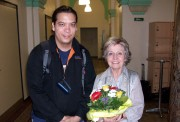 With Cecilia Rodrigo