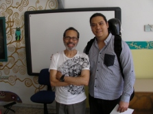 After all-day class with Leo Brouwer